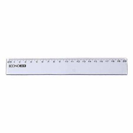 Economix Transparent Ruler 20 cm  Armenius Store