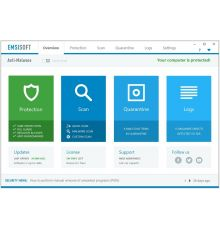 Security Emsisoft Anti-Malware 3 PC / 1 Year|armenius.com.cy