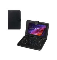 """Universal Case with Micro USB Keyboard For 9"""", 8"""""""
