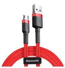 Baseus Micro USB Cafule 2.4A 1m (CAMKLF-B09)|armenius.com.cy