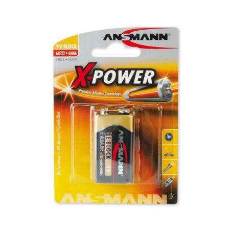 Batteries Ansmann X-Power 9V E-Block Battery|armenius.com.cy