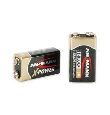 Μπαταρίες Ansmann X-Power 9V E-Block Battery|armenius.com.cy