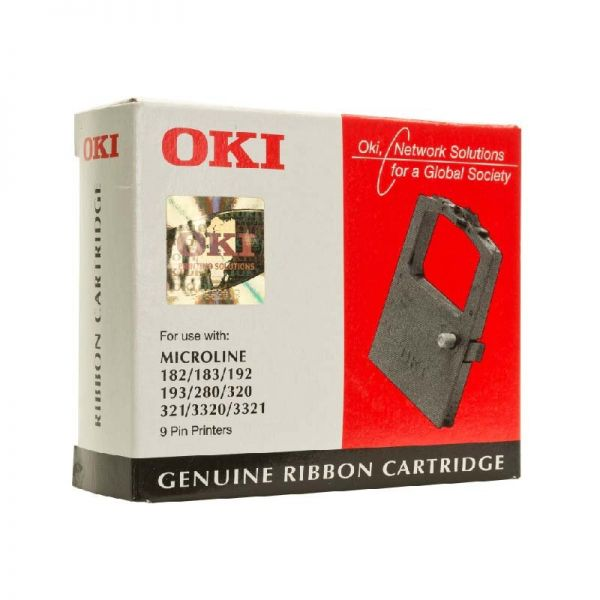 OKI Genuine ribbon cartridge for ML 182/183/192/280/320/3320/3321| Armenius