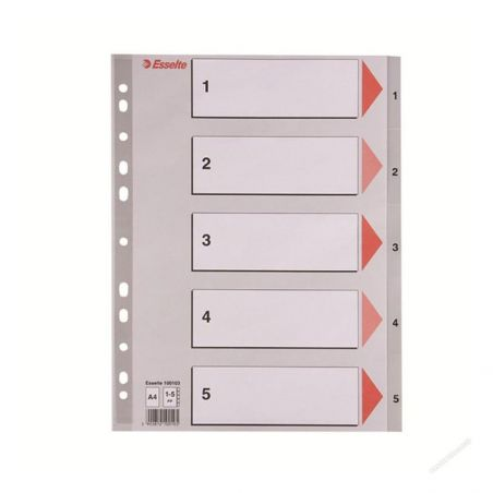Filing & Archiving Esselte Premium plastic Incides A4|armenius.com.cy