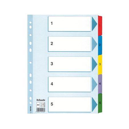 Filing & Archiving Esselte Premium Plastic dividers