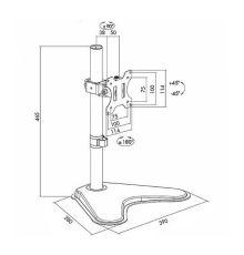 Logilink BP0044 Monitor Desk Mount / 13-32 inch / 8 Kg