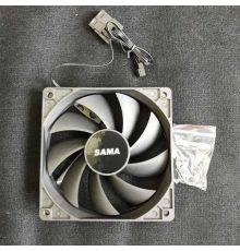 Sama Black Fan 120mm|armenius.com.cy