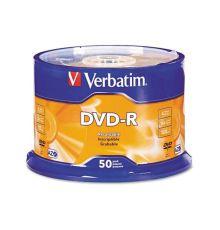 Verbatim DVD-R 4.7 GB 50 pcs / 120 min / VER-95101|armenius.com.cy
