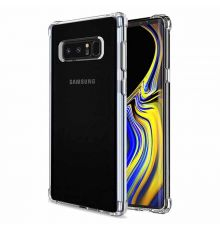 Silicone Case ShockProof Samsung Note 8 Clear|armenius.com.cy