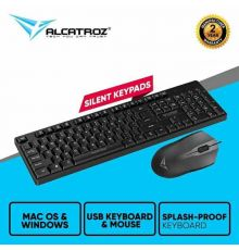 Alcatroz Xplorer C3300 Wired Combo Keyboard Mouse|armenius.com.cy