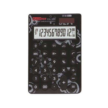 CALCULATOR BlACK-RED CH-384| Armenius Store