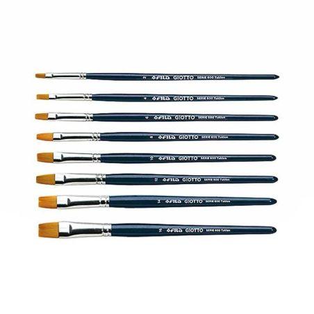 Αξεσουάρ Art flat tip brushes series 600 armenius.com.cy