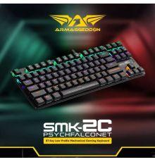 Armaggeddon SMK-2C PSYCHFALCONET Low Profile Mechanical keyboard  Armenius Store