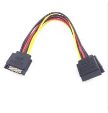 Power SATA One To Two Sata Cable 15 PIN|armenius.com.cy
