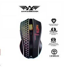 Armaggeddon Foxbat 3 Kevlar13 Pro-Gaming Wireless Rechargeable Mouse| Armenius