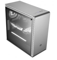 Cooler Master MasterBox MS600 TG ATX PC Case Silver|armenius.com.cy