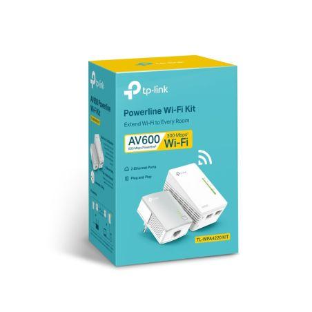 Power Line AV600 TL-WPA4220 Kit EU|armenius.com.cy