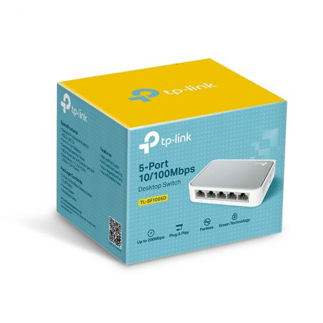 TP-LINK 5-port Desktop Switch TL-SF1005D| Armenius Store
