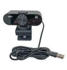 GBC 2K USB Webcam with Microphone & Privacy Shutter|armenius.com.cy