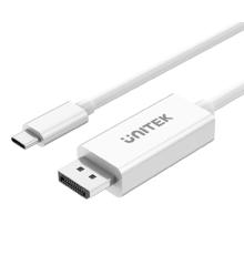 Unitek V400A Type-C 3.1 to Displayport Cable 4K 1.8M White| Armenius Store
