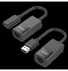 Unitek Y-UE01001 USB Extender over Ethernet 60m|armenius.com.cy