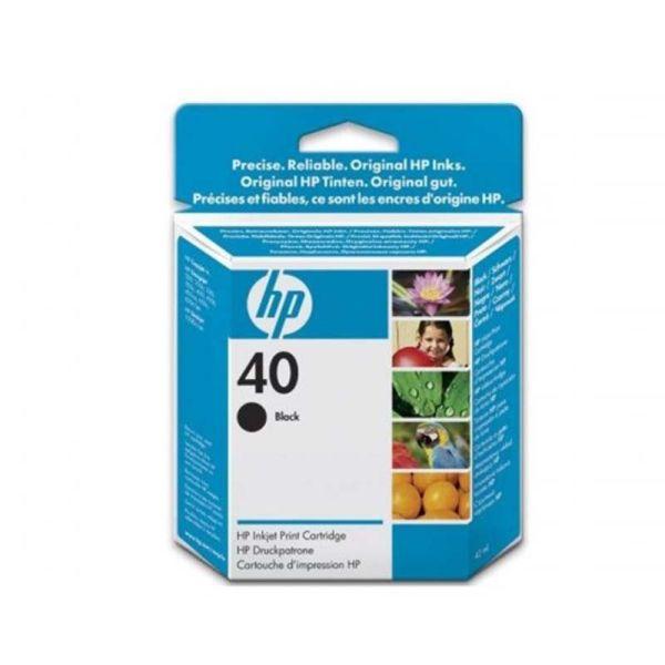 Ink cartridge HP 40 Black Inkjet Print Cartridge