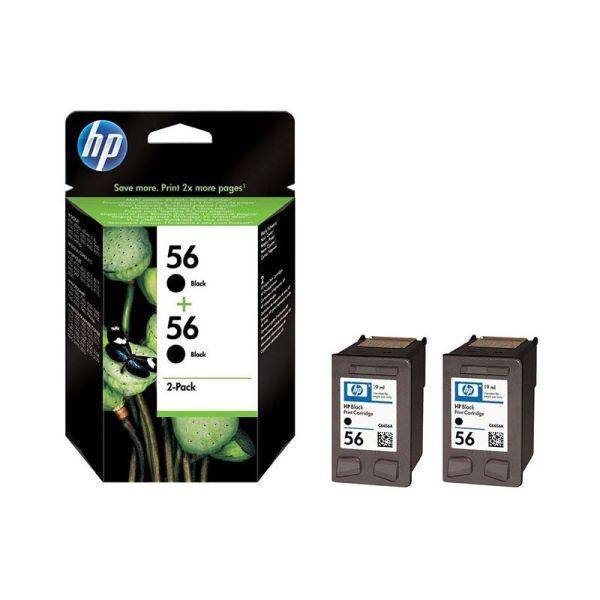 Ink cartridge HP 56 2-pack Black Original Ink Cartridges