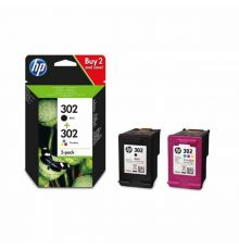 HP 302 Ink Cartridge 2 Pack Black And Tricolor|armenius.com.cy