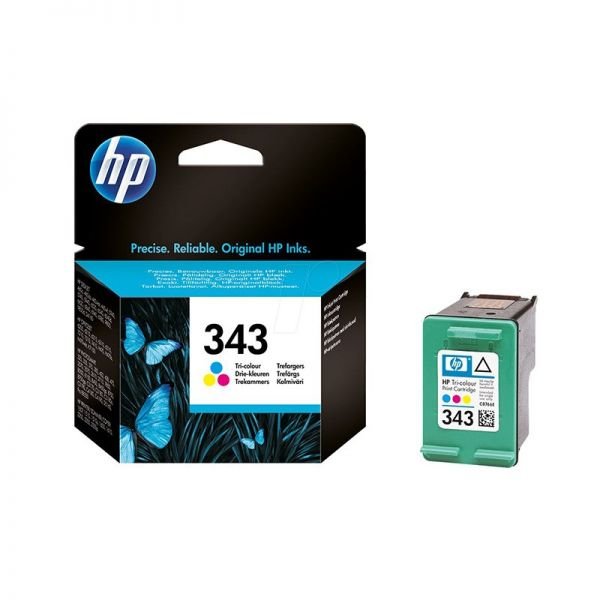 Ink cartridge HP 343 Tri-color Original Ink Cartridge