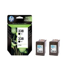 Ink cartridge HP 338 2-pack Black Original Ink Cartridges