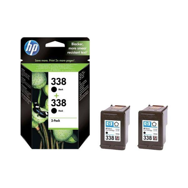 Ink cartridge HP 338 2-pack Black Original Ink Cartridges