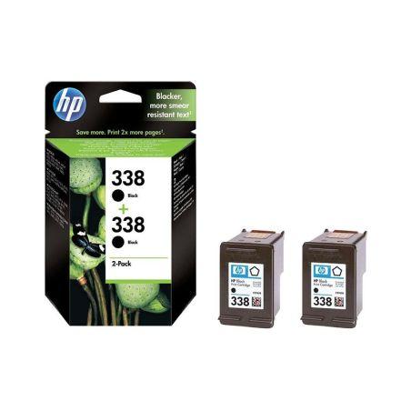 Ink cartridges HP 338 2-pack Black Original Ink Cartridges CB331EE armenius.com.cy