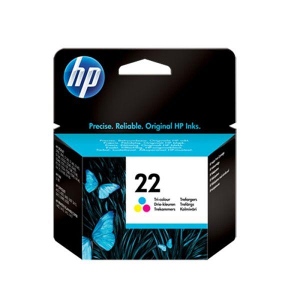 Ink cartridge HP 22 Tri-color Original Ink Cartridge