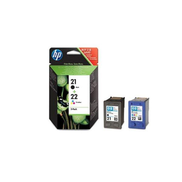 Ink cartridges HP 21/22 Combo-pack Inkjet Print Cartridges SD367AE|armenius.com.cy