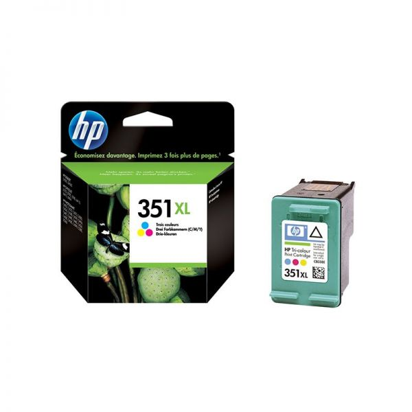 Ink cartridges HP 351XL Tri-colour Inkjet Print Cartridge CB338EE armenius.com.cy