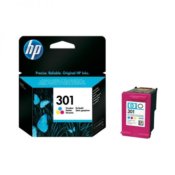 Ink cartridge HP 301 Tri-colour Ink Cartridge