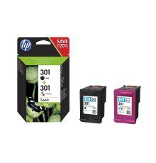 Ink cartridges HP 301 2-pack Black/Tri-color Original Ink Cartridges N9J72AE|armenius.com.cy