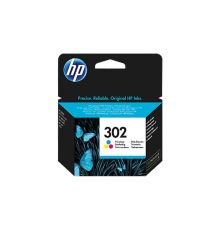 HP 302 Color Ink Cartridge F6U65AE|armenius.com.cy