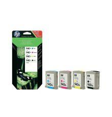 Ink cartridges HP 940XL Combo-pack Black/Cyan/Magenta/Yellow Officejet Ink Cartridges