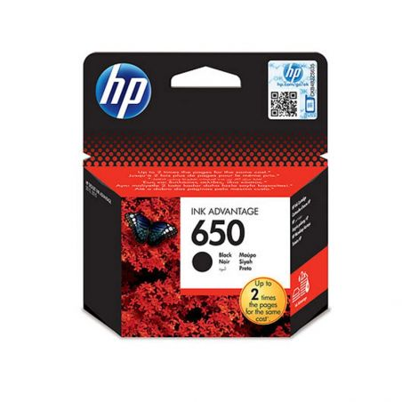 Ink cartridge HP 650 Black Ink Cartridge CZ101AE|armenius.com.cy