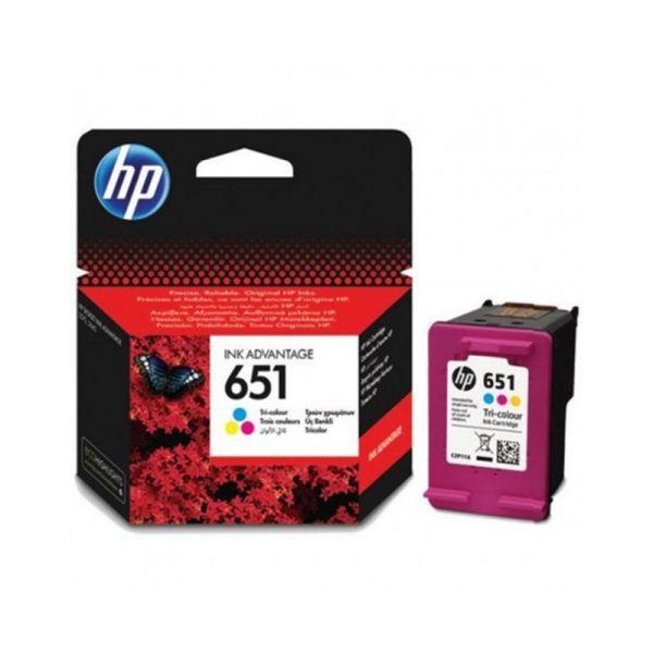 Ink cartridge HP 651 Tri-color Original Ink Advantage Cartridge
