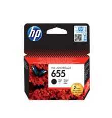 HP 655 Ink Cartridge Black (CZ109AE)|armenius.com.cy
