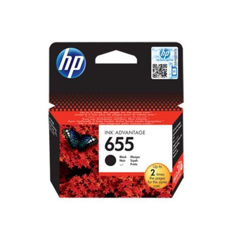 HP 655 Ink Cartridge Black (CZ109AE)|armenius.com.cy