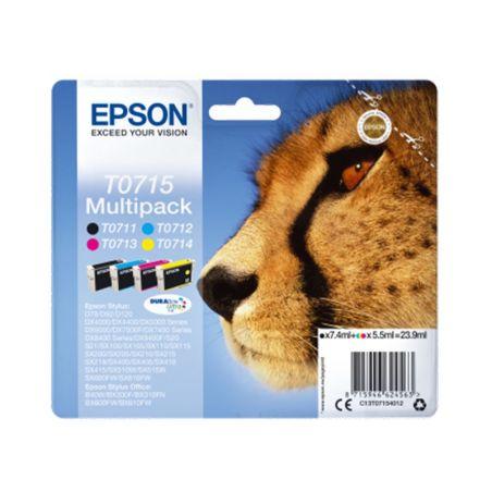 Ink cartridge Multipack 4-colours T0715 DURABrite Ultra