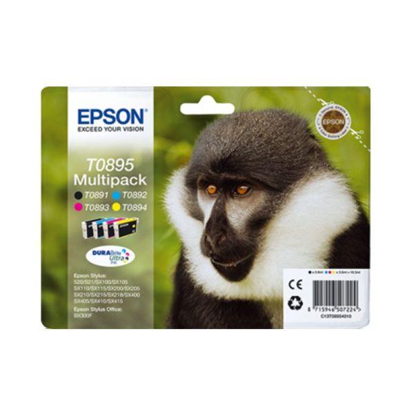 Ink cartridge Multipack 4-colours T0895 DURABrite Ultra