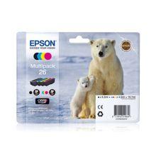 Ink cartridges Multipack 4-colours 26 Claria Premium Ink|armenius.com.cy
