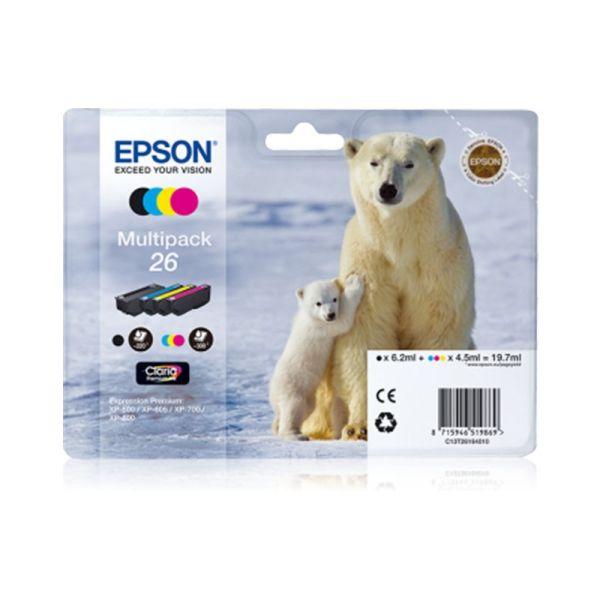 Ink cartridge Multipack 4-colours 26 Claria Premium
