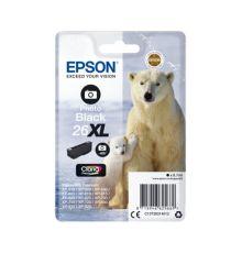 Ink cartridge Singlepack Photo Black 26XL Claria Premium