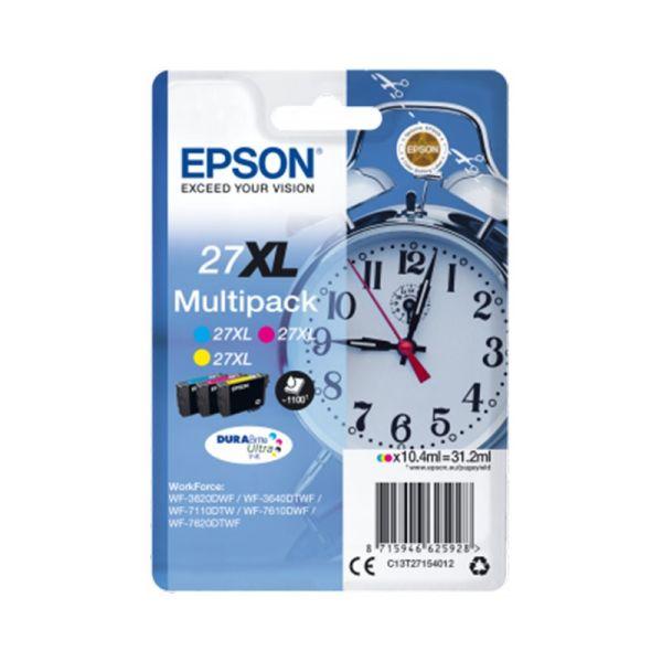 Ink cartridge Multipack 3-colour 27XL DURABrite Ultra