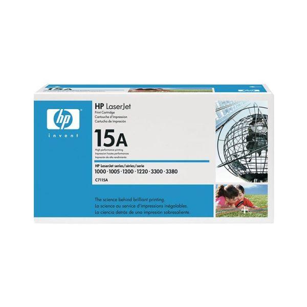 Toner HP LaserJet C7115A Black Print Cartridge